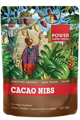 3 X POWER SUPER FOODS Cacao Power Nibs 125g