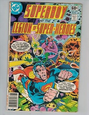 Superboy Legion of Super-Heroes 242 243 244 246 247 248 249  Lot of 7 DC Comics!