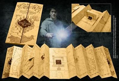 Original Harry Potter Karte Rumtreibers Marauder's Map Pergament Gr 39 x 182cm