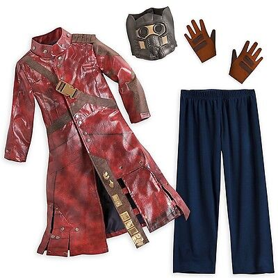 STAR LORD Halloween Costume Guardians of the Galaxy DISNEY STORE 7 8 Med NEW!