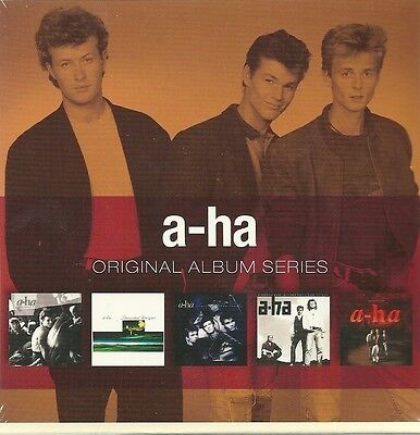 5 CD-Box (NEU!) . a-ha - 5 Original Alben (Take On Me / Best of 80s aha mkmbh170