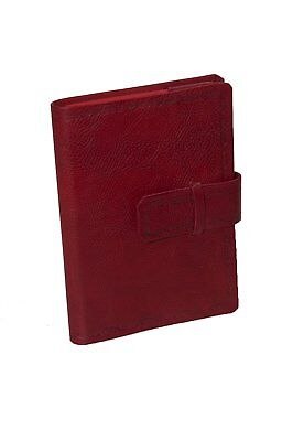 Master Bookshop eugubini- Daily Agenda Interchangeable, in Calf Leather, Red 13