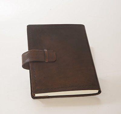 Master Bookshop eugubini- Agendas Daily Interchangeable, in Calf Leather Hand 13