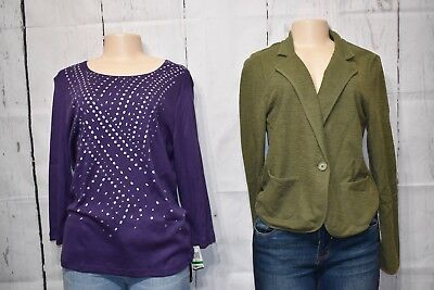 Ladies Mixed Lot of Clothes--Size Large. 7 Pieces of new clothes retails $192.00