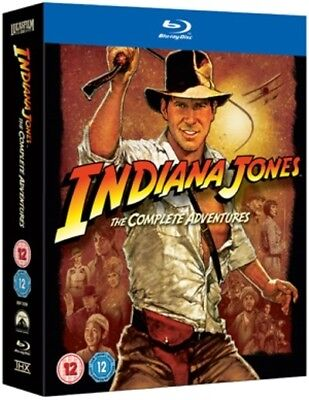 Indiana Jones - The Complete Adventure Collection [Regions 1,2,3] [Blu-ray]