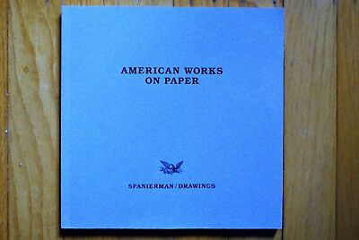 """Spanierman Gallery Catalog: """"American Works on Paper: Autumn 1987"""" NEW Free Ship"""