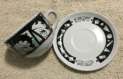 Betty Boop Cup And Saucer