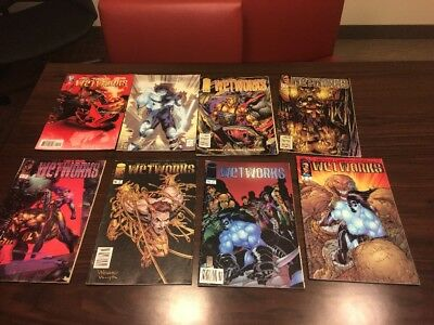 WETWORKS Comic Books LOT OF 8 - #2,3,4,6,7,10,11&13