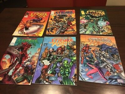 Codename Stryke Force Lot Of 6 # 3,4,5,7,8,9 (Nm-) Image Comics