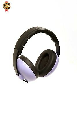 Banz Baby Ear Defenders Lilac/Purple NEW