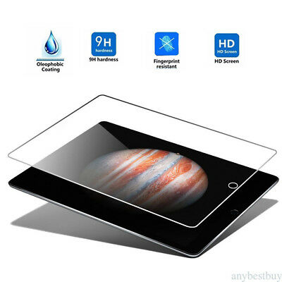 Full Coverage Tempered Glass Screen Protector For Apple iPad 2/3/4 Air Mini Pro