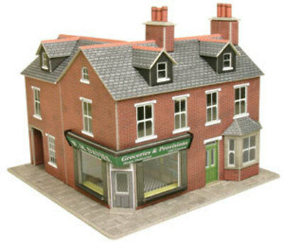 Metcalfe P0263 Oo/ho Red Brick Corner Shop Kit New In Box