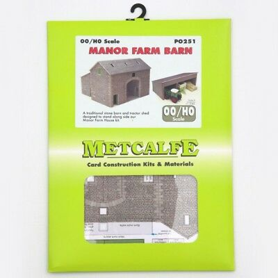 Metcalfe P0251 Oo/ho Manor Farm Barn New In Box