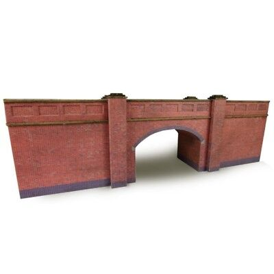 Metcalfe Pn146 N Railway Bridge Brick Style