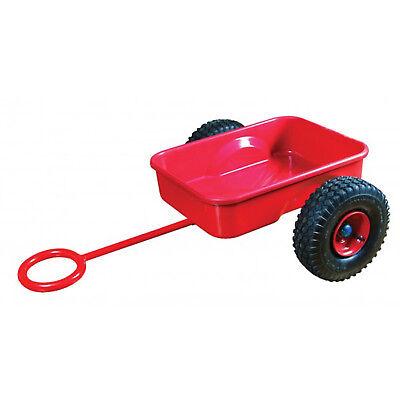 Zedfx Kids Bicycle Trike Pull Toy Trailer to Suit Straight Frame Kids Bike RED Z