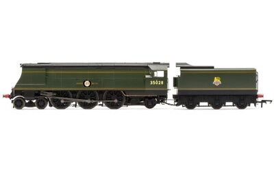 Hornby R3436 Br Early 4-6-2 Merchant Navy Class Clan Line 35028