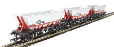 Hornby Oo Br Railfreight Haa Wagon Pack Of 3 New In Box