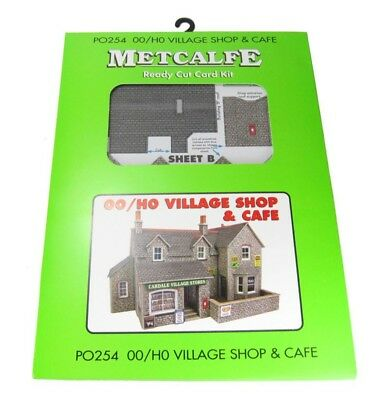 Metcalfe P0254 Oo/ho Village Shop And Cafe Kit New In Box