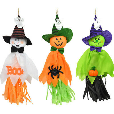 Halloween Hanging Decorations Garland House Party Scary Ghost Props Kids Toys