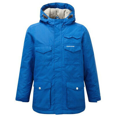 Craghoppers Boys Alix Waterproof Breathable Padded Coat Jacket