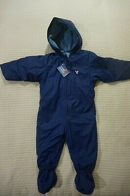 Muddy Puddles Puddleflex Super Warm All In One Snowsuit 6-12 12-18 18-24 Mth