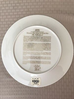 Lenox 2001 Annual Holiday Plate