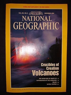 National Geographic December 1992  - Volcanoes