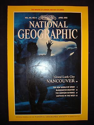 National Geographic April 1992  - Vancouver