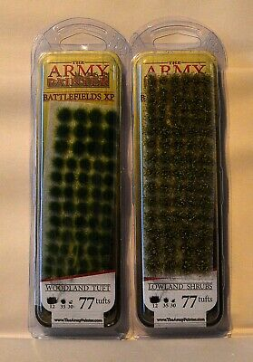 The Army Painter Battlefields XP Tufts Wargames, Model Rail, Dioramas Scenics