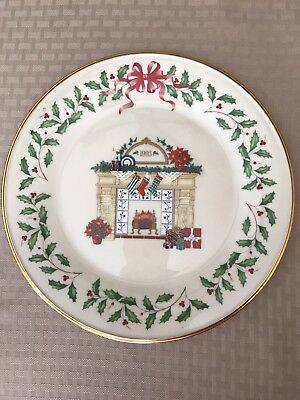 Lenox 1993 Annual Holiday Collectors Plate