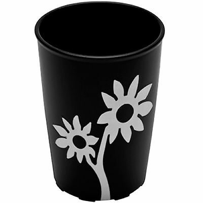 2 x Ornamin Grip-Cup with Flowers - 250ml - choice of colours -Flower design