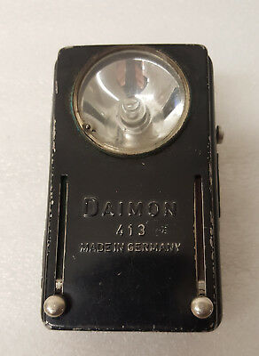 Taschenlampe Daimon 413 Vintage Signal Flashlight Made in Germany