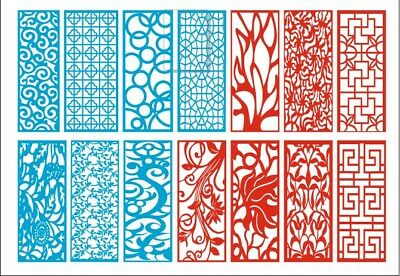 New Collection of Laser Cut -ScrollWork CNC Vector DXF-CDR Art file ready to cut