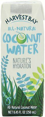 All Natural Coconut Water, Harvest Bay, 12 pack