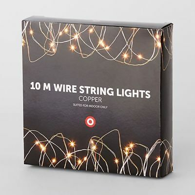 NEW 10m Copper Wire String Lights