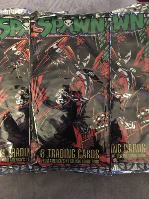 Spawn Trading Cards. 1995 Of Todd Mcfarlane Productions. Sealed Packs