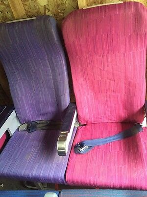 Thai Airways Boeing 747-400 Rows of Two Economy Seats