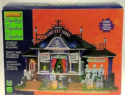 Lemax Spooky Town Cemetery Tours #25327 NIB Signature Collection 2012 RETIRED