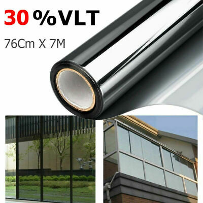 Window Tint Film 15% VLT Black Roll Car Auto House Home 760mm X 7m Brand New AU