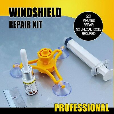 HOT Car Glass Windshield Windscreen Instrument Repair Kit DIY Glass Repair Tool