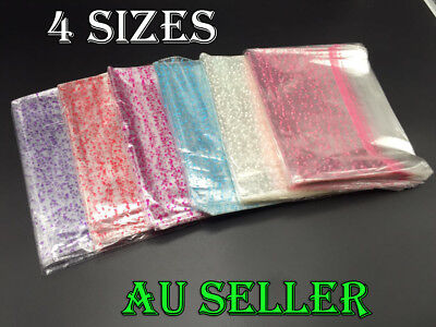 Bulk 50 Cellophane Gift Bags Gift Packing Film Wrap Party Lolly Food Loot Bags