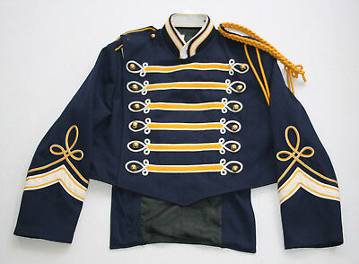 Vintage Marching Band Seargeant Pepper Uniform Jacket Brass Buttons Steampunk 56