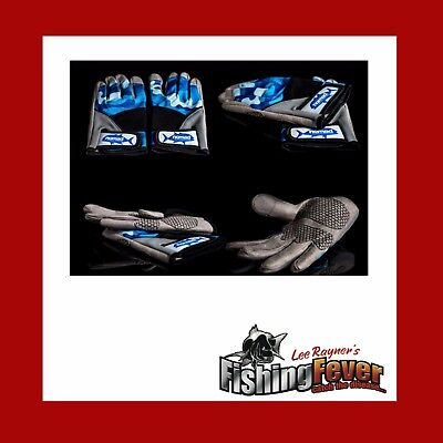 Nomad Blue Camo Casting Gloves BRAND NEW at Fishing Fever