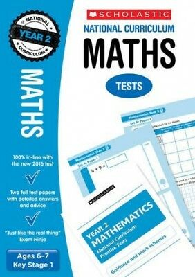 ` Maths Test - Year 2 (National Curriculum SATs Tests) (Paperback)