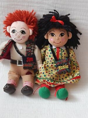 Rosie And Jim Beanie Soft Toy, Born To Play 1999