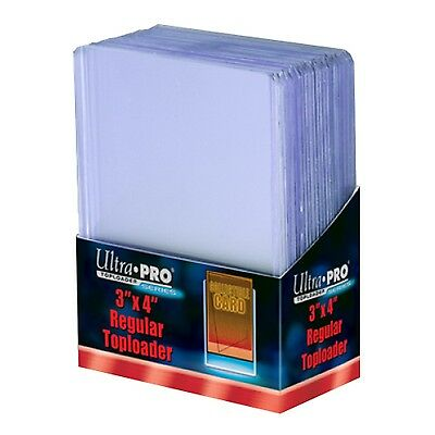 UltraPro Ultra Pro Toploader Trading Card Protector Regular 3x4 Pack of 25 NEW