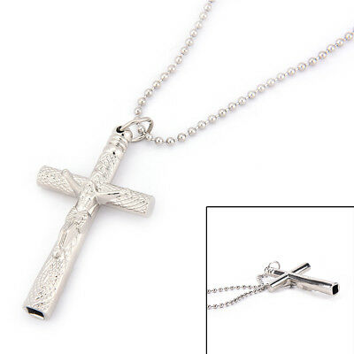 Drum Key Chain Silver Necklace Cross Drum Head Tuning Key Drum Accessories Great