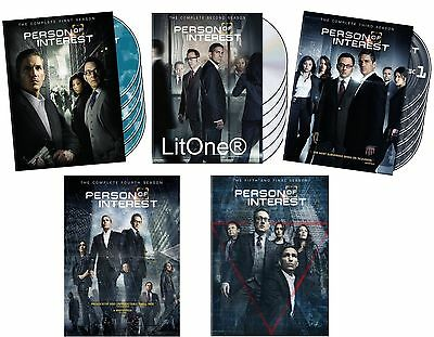Person Of Interest The Complete Series Season  1-5  New Sealed 27-Disc Dvd-Set