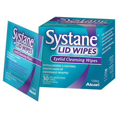 Systane Eye Lid Cleansing Wipes 30 NEW Cincotta Chemist