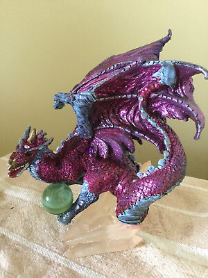 Collectable Resin Dragon Figurine 15Cm Great Details